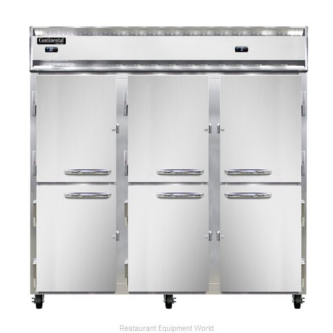 Continental Refrigerator 3RFF-SA-HD Refrigerator Freezer, Reach-In (Magnified)