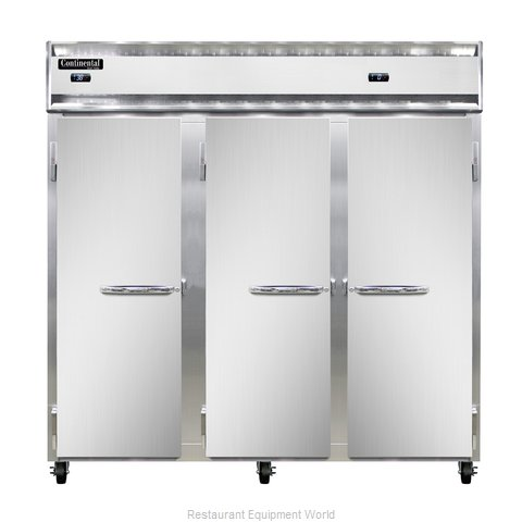 Continental Refrigerator 3RFF-SA Refrigerator Freezer, Reach-In (Magnified)