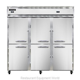 Continental Refrigerator 3RFF-SS-HD Refrigerator Freezer, Reach-In