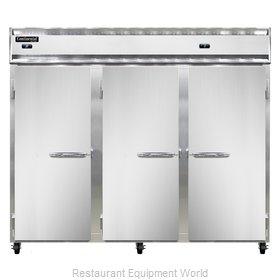 Continental Refrigerator 3RFFE Refrigerator Freezer, Reach-In