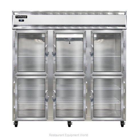 Continental Refrigerator 3RNGDHD Refrigerator, Reach-In