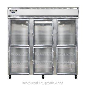 Continental Refrigerator 3RNSSGDHD Refrigerator, Reach-In
