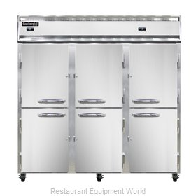 Continental Refrigerator 3RRF-SS-HD Refrigerator Freezer, Reach-In