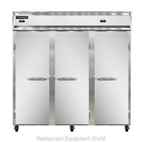 Continental Refrigerator 3RRF-SS Refrigerator Freezer, Reach-In