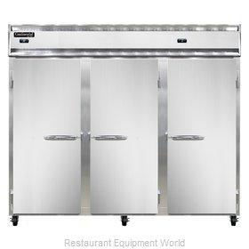 Continental Refrigerator 3RRFE Refrigerator Freezer, Reach-In