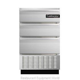 Continental Refrigerator BBUC24S-SS-D Refrigerator, Undercounter, Reach-In
