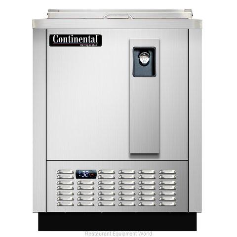 Continental Refrigerator CBC24-SS-DC Bottle Cooler