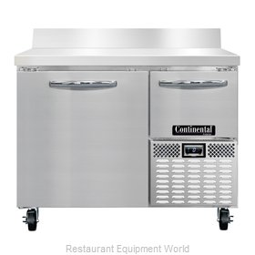 Continental Refrigerator CFA43-BS Freezer Counter, Work Top
