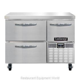 Continental Refrigerator CFA43-D Freezer Counter, Work Top