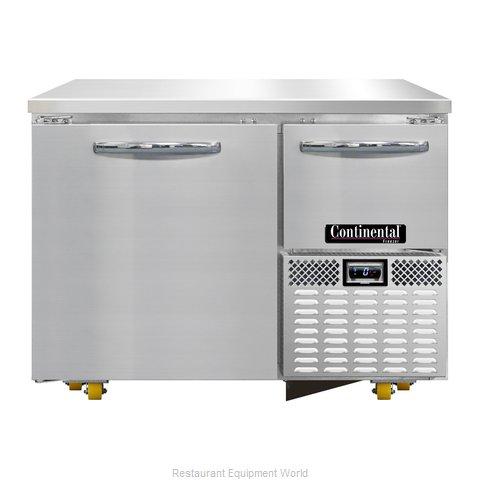 Continental Refrigerator CFA43-U Freezer, Undercounter, Reach-In