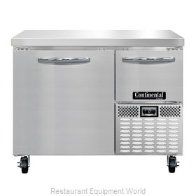 Continental Refrigerator CFA43 Freezer Counter, Work Top
