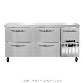 Continental Refrigerator CFA68-D Freezer Counter, Work Top