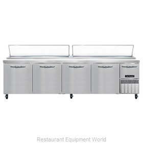 Continental Refrigerator CPA118 Refrigerated Counter, Pizza Prep Table