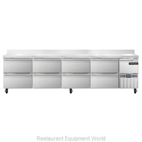 Continental Refrigerator CRA118-BS-D Refrigerated Counter, Work Top