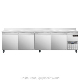 Continental Refrigerator CRA118-BS Refrigerated Counter, Work Top