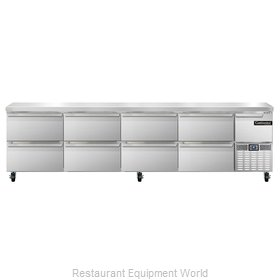 Continental Refrigerator CRA118-D Refrigerated Counter, Work Top