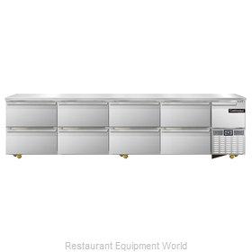 Continental Refrigerator CRA118-U-D Refrigerator, Undercounter, Reach-In