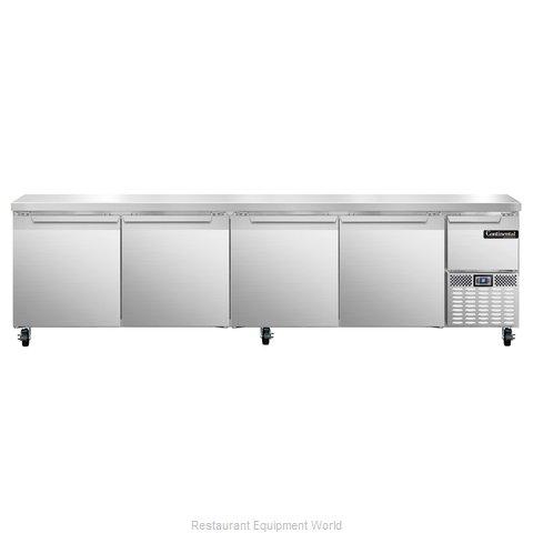 Continental Refrigerator CRA118 Refrigerated Counter, Work Top