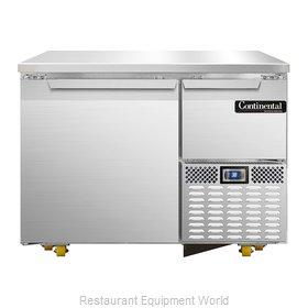 Continental Refrigerator CRA43-U Refrigerator, Undercounter, Reach-In