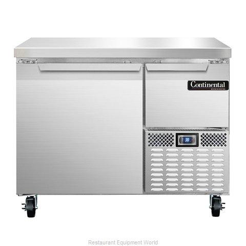 Continental Refrigerator CRA43 Refrigerated Counter, Work Top