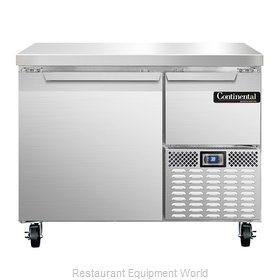 Continental Refrigerator CRA43 Refrigerated Counter, Work Top