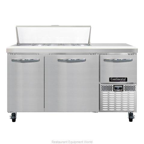 Continental Refrigerator CRA60-10 Refrigerated Counter, Sandwich / Salad Top