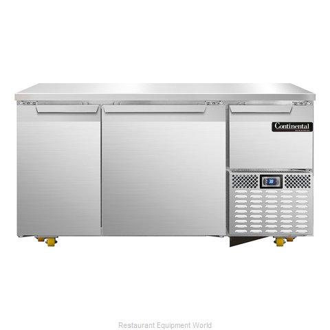 Continental Refrigerator CRA60-U Refrigerator, Undercounter, Reach-In