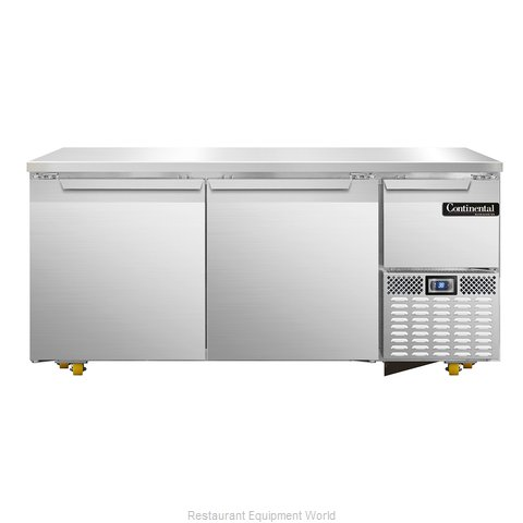 Continental Refrigerator CRA68-U Refrigerator, Undercounter, Reach-In