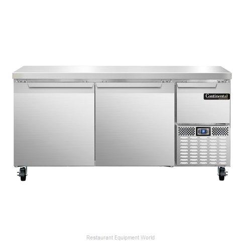 Continental Refrigerator CRA68 Refrigerated Counter, Work Top