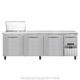 Continental Refrigerator CRA93-12M Refrigerated Counter, Mega Top Sandwich / Sal