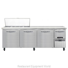 Continental Refrigerator CRA93-18M Refrigerated Counter, Mega Top Sandwich / Sal