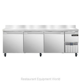 Continental Refrigerator CRA93-BS Refrigerated Counter, Work Top