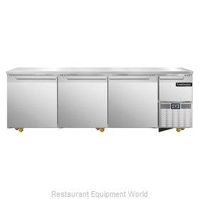 Continental Refrigerator CRA93-U Refrigerator, Undercounter, Reach-In
