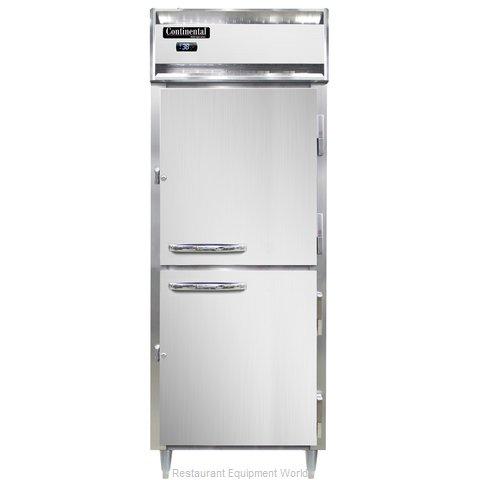 Continental Refrigerator D1RENSSPTHD Refrigerator, Pass-Thru
