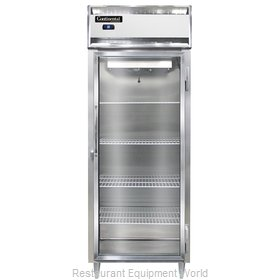 Continental Refrigerator D1RESNSSGD Refrigerator, Reach-In