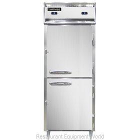 Continental Refrigerator D1RFENSSHD Refrigerator Freezer, Reach-In