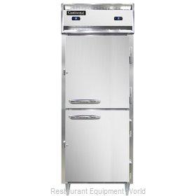 Continental Refrigerator D1RFESNHD Refrigerator Freezer, Reach-In