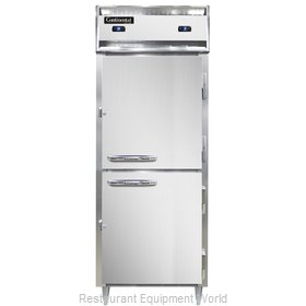Continental Refrigerator D1RFESNSSHD Refrigerator Freezer, Reach-In