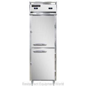 Continental Refrigerator D1RFNHD Refrigerator Freezer, Reach-In