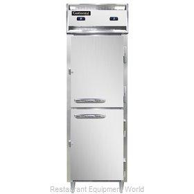 Continental Refrigerator D1RFNSSHD Refrigerator Freezer, Reach-In
