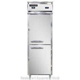 Continental Refrigerator D1RFSNSSHD Refrigerator Freezer, Reach-In