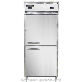 Continental Refrigerator D1RFXNHD Refrigerator Freezer, Reach-In