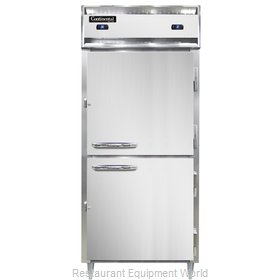 Continental Refrigerator D1RFXSNHD Refrigerator Freezer, Reach-In