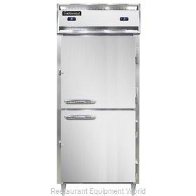 Continental Refrigerator D1RFXSNSSHD Refrigerator Freezer, Reach-In