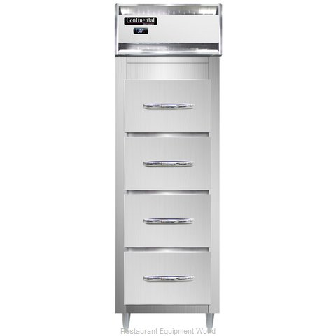 Continental Refrigerator D1RSNSS-F Refrigerator, Fish / Poultry