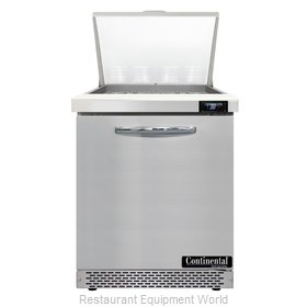 Continental Refrigerator D27N12M-FB Refrigerated Counter, Mega Top Sandwich / Sa