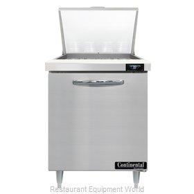 Continental Refrigerator D27N12M Refrigerated Counter, Mega Top Sandwich / Salad