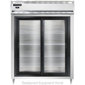 Continental Refrigerator D2RENSSSGD Refrigerator, Reach-In