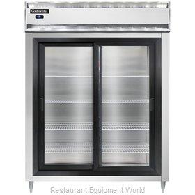 Continental Refrigerator D2RESNSSSGD Refrigerator, Reach-In