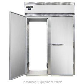Continental Refrigerator D2RINRT-E Refrigerator, Roll-Thru